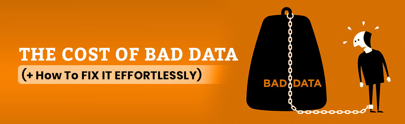The Cost of Bad Data (+ How To Fix It Effortlessly)