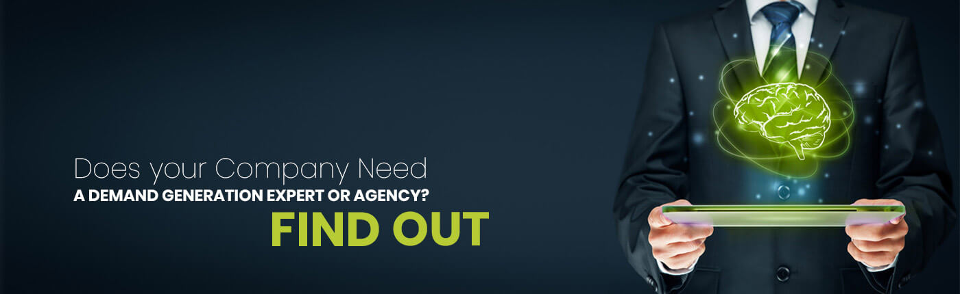 Does your Company Need a Demand Generation Expert or Agency? Find out
