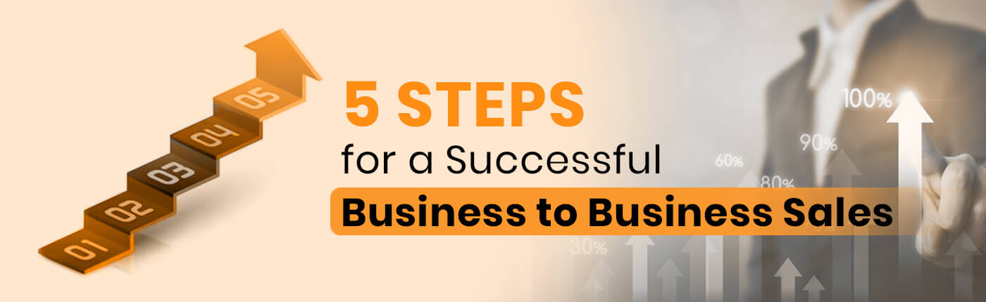 5 Steps for a Successful Business to Business Sales