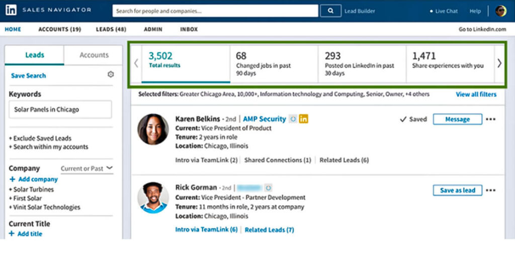 Sales Spotlight - Tips To Build Your B2B Contact List On LinkedIn