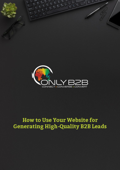 How to use your website for generating high-quality B2B leads