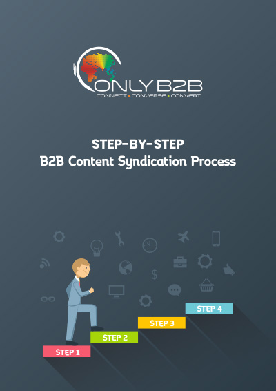 Step-by-step B2B content syndication process