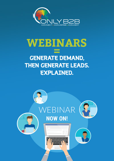 Generate demand then generate leads, explained